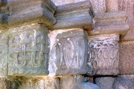 Mito serpentario en la iglesa de ntra sra del azogue en La Puebla de Sanabria