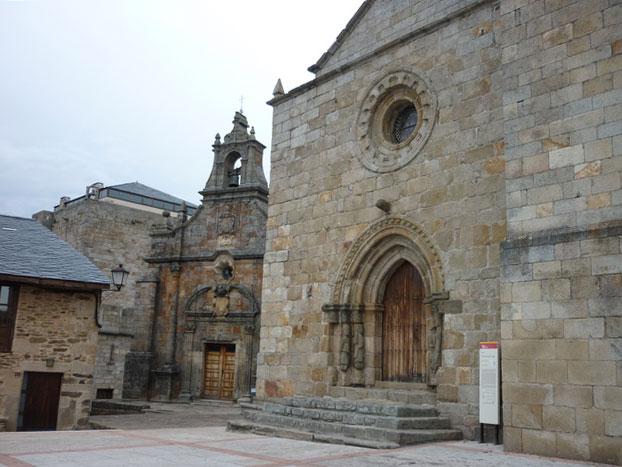 Iglesia de ntra sra del azogue en Puebla de Sanabria