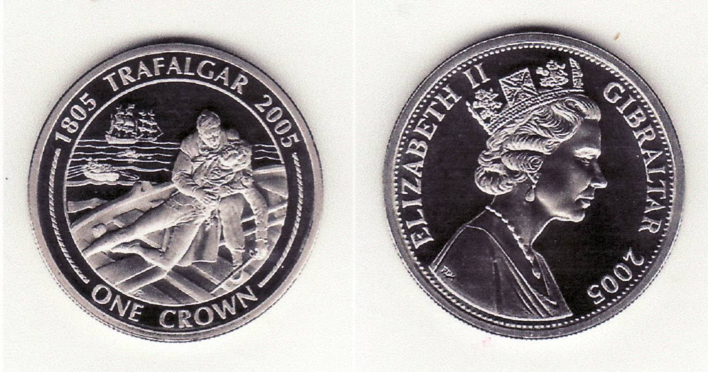 Gibraltar 2005 trafalgar 1 crown