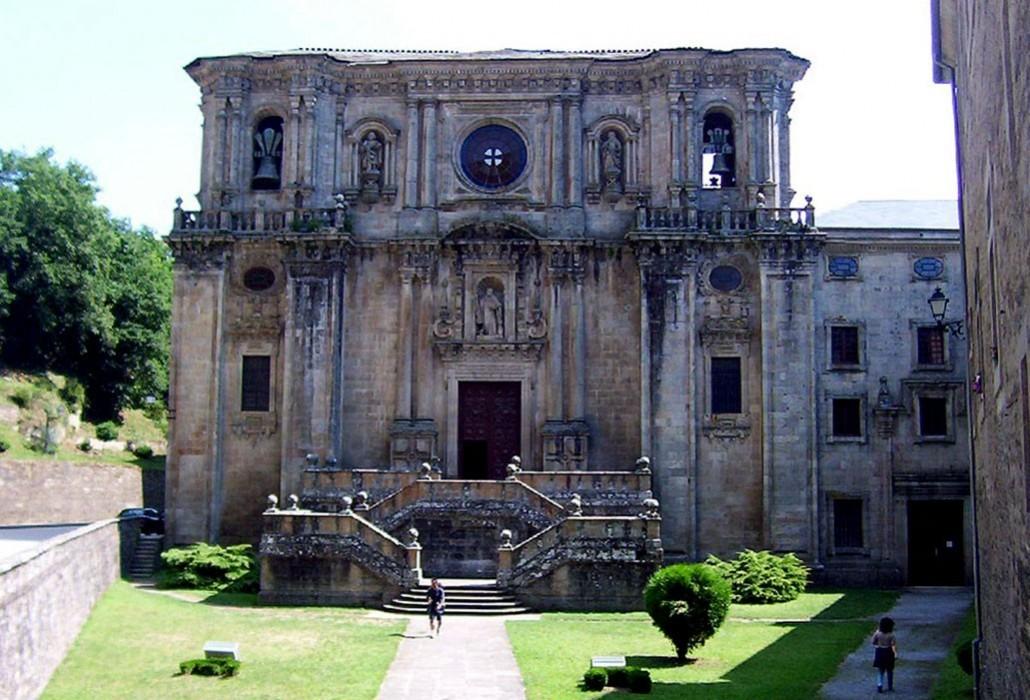 monasterio de samos en el camino de santiago