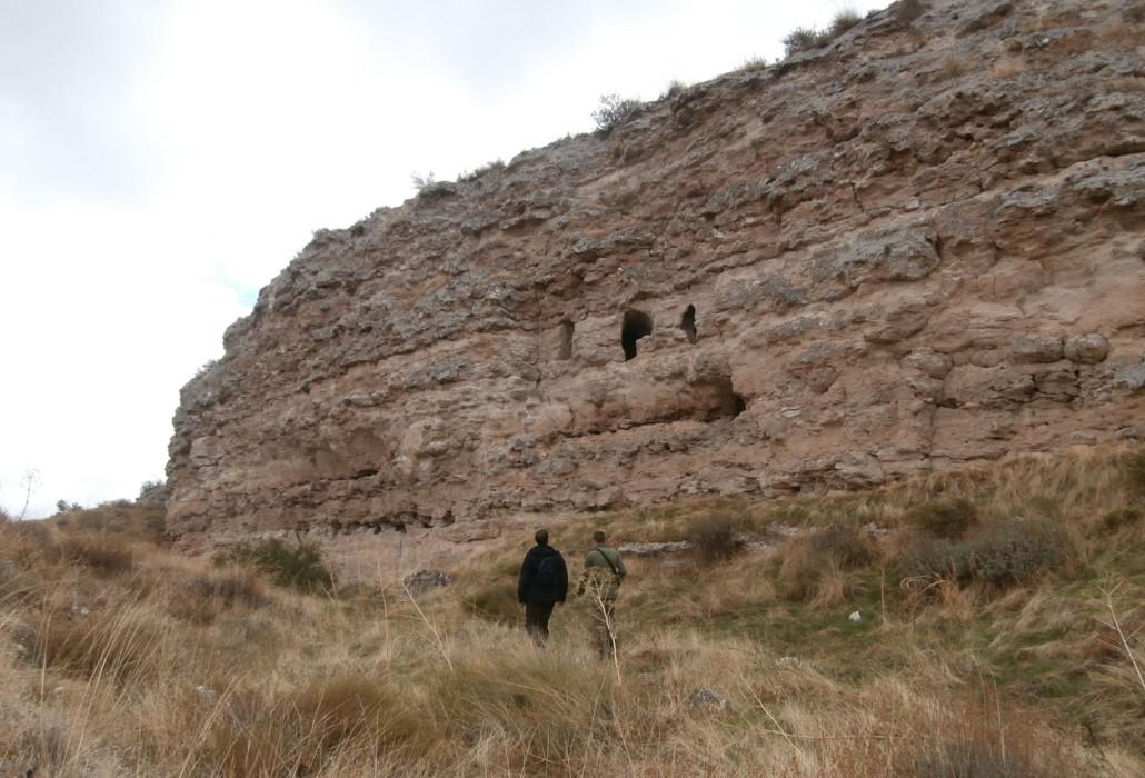 Cueva de Aldovera, en Illana